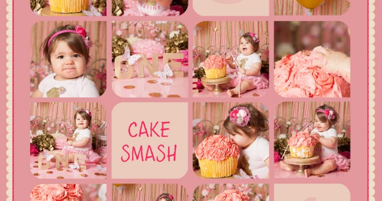 smash the cake : Satine