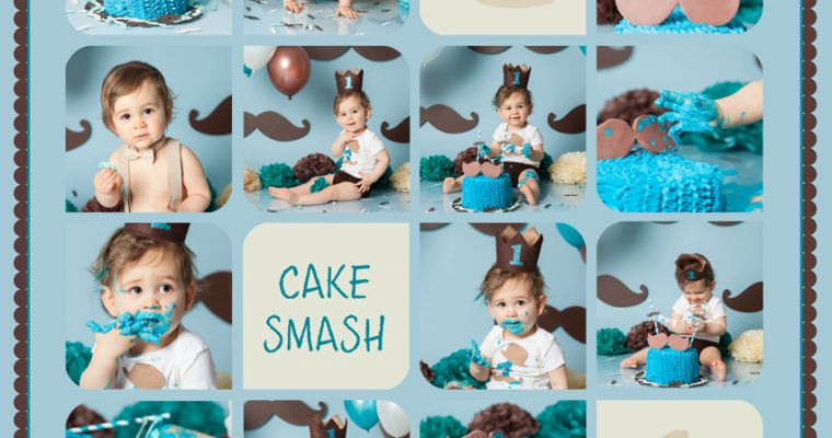 smash the cake : Gabin