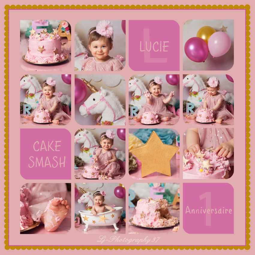 smash the cake : Lucie