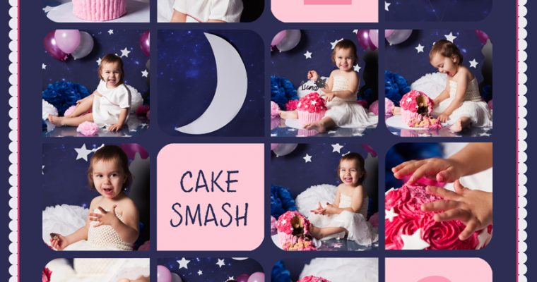 smash the cake : Luna